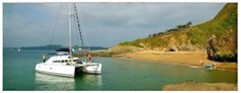 Cornish Cove charters sailing holidays
